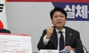 """장제원 """"원내 투쟁할 시간… 무소속 복당문제 서둘러야"""""""