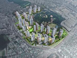 성남 '산성역 자이푸르지오' 내일 사이버 견본주택 공개