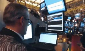 New York Stock Market, 새해 첫 폭락, 1.25 % ↓