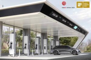 현대차·기아, 'E-Pit 초고속 충전기' iF디자인 어워드서 금상