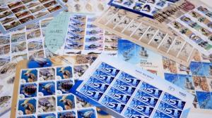 우정사업본부, 기념 우표 1만4900장 기증